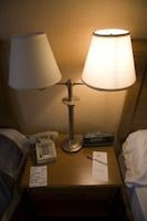 Hotel Night Table with Lamps Personal Injury